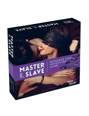 Sextoys - Jeux coquins - Master Slave Purple Premium - KIT BDSM - Tease Please