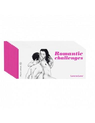 Sextoys - Jeux coquins - Chequier Romantic challenges par Apollonia Saintclair - Love to Love