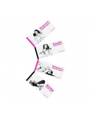 Sextoys - Jeux coquins - Jeux de couple Chequier Kinky challenges par Apollonia Saintclair - Love to Love