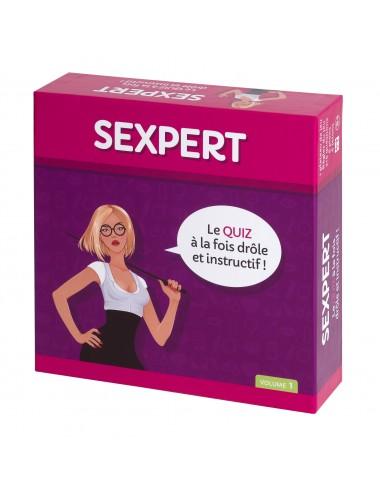 Sextoys - Jeux coquins - Jeu Sexpert FR - Volume 1 - Tease Please