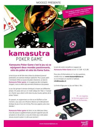 Sextoys - Jeux coquins - Kamasutra Poker Game - Tease Please