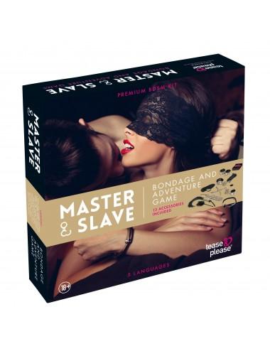 Sextoys - Jeux coquins - Master Slave Premium - KIT BDSM - Tease Please