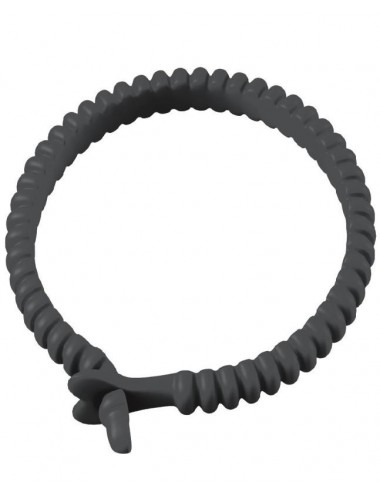 Sextoys - Anneaux, Cockring & Gaines - Cockring Dorcel Adjust Ring couleur noire - DO0104 - Dorcel