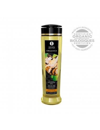 Huile de massage organique - Douceur d'amande - 240 ml - Huiles de massage - Shunga
