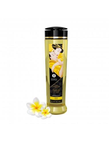 Huile de massage érotique - Serenity - monoi - 240 ml - Huiles de massage - Shunga