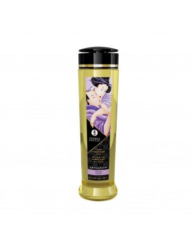 Huile de massage érotique - Sensation - Lavande - 240 ml - Huiles de massage - Shunga