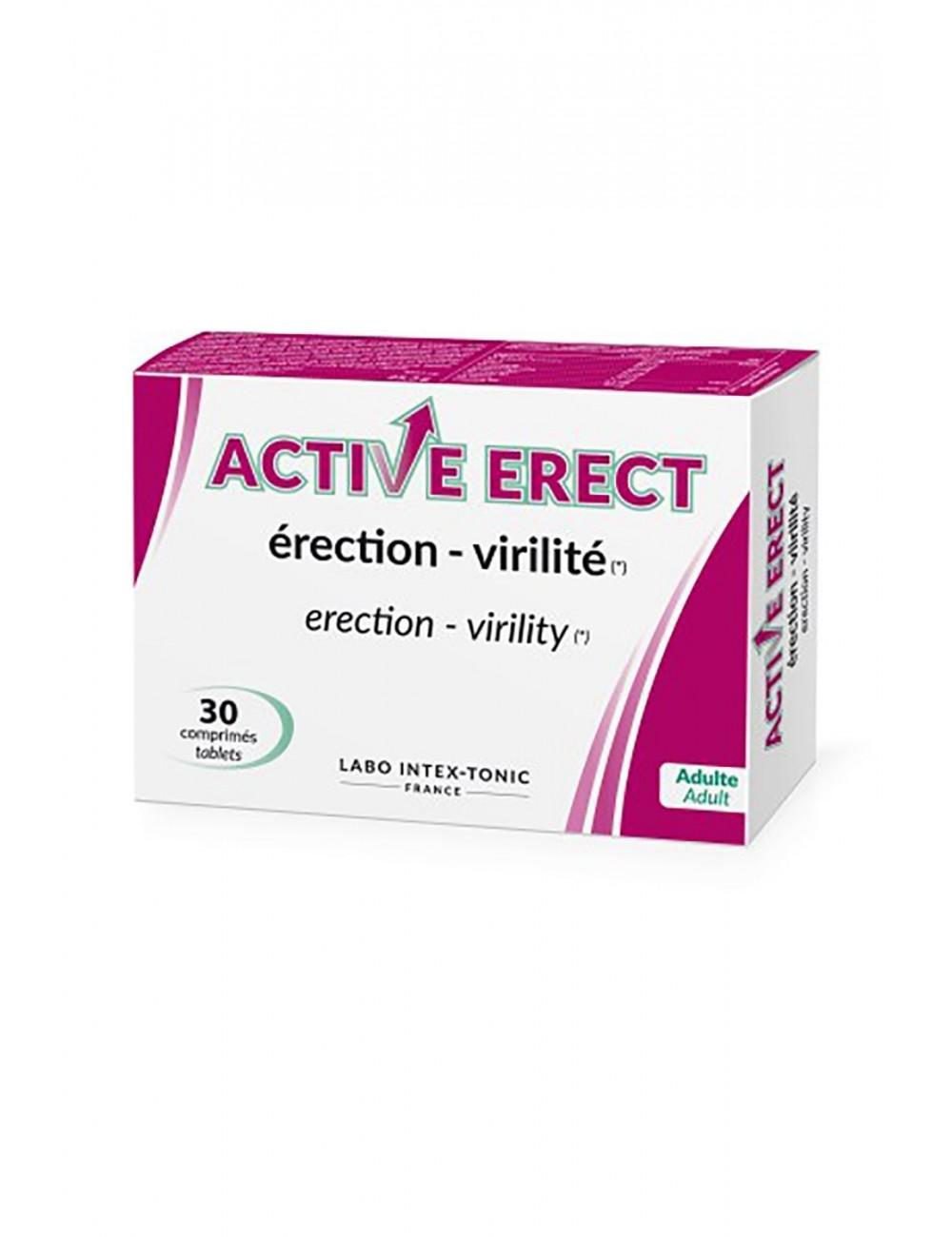 Active Erect 30 comprimés - CC850104 - Lubrifiants - LABO INTEX-TONIC
