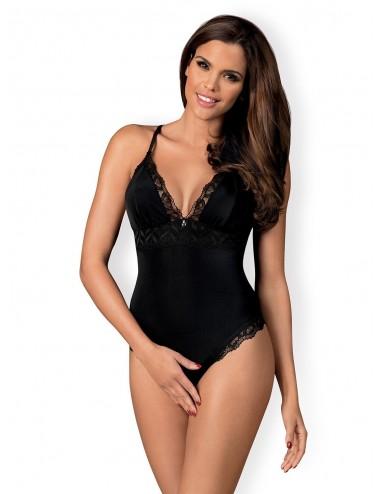 Lingerie - Bodys - Arisha Body - Noir - Obsessive