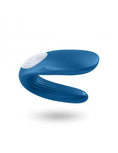 Sextoys - Masturbateurs & Stimulateurs - Stimulateur vibromasseur Satisfyer Partner Whale - Bleu - Satisfyer