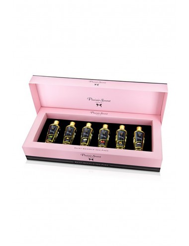 Coffret 6 huiles de massage - CC826076 - Huiles de massage - Plaisirs Secrets