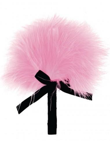 Sextoys - Caresses - Plumeau rose avec noeud satiné - 100200PNK - Dreamy Toys