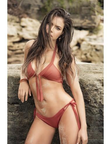 Lingerie - Maillots de bain et tenues de plage - Maillot de bain 2 pcs Style 6554 - Terracotta - Mapalé