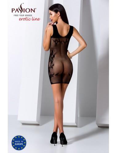Lingerie - Robes et jupes sexy - BS073B Robe - Noir - Passion Lingerie
