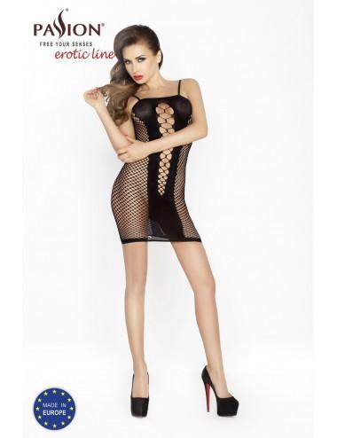 Lingerie - Robes et jupes sexy - BS027 Robe - Noir - Passion Lingerie