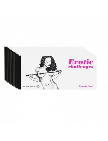Sextoys - Jeux coquins - Chequier Erotic challenges par Apollonia Saintclair - Love to Love