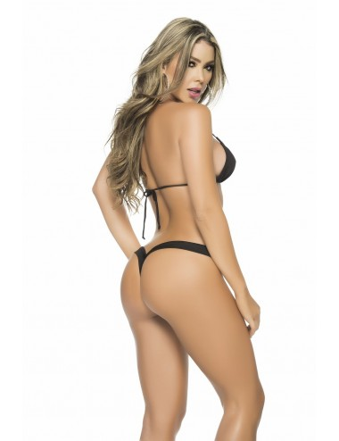 Lingerie - Boxers, strings, culottes - Perfect Thong - MAL1075BLK - Mapalé
