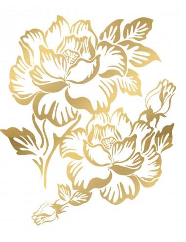 Sextoys - Accessoires - Tatouage éphémère figure artistique effet or TAGold 3 - Temporary Tattoo