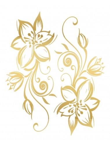 Sextoys - Accessoires - Tatouage éphémère figure artistique effet or TAGold 15 - Temporary Tattoo