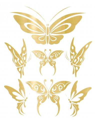 Sextoys - Accessoires - Tatouage éphémère figure artistique effet or TAGold 13 - Temporary Tattoo