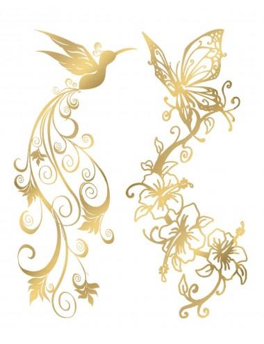 Sextoys - Accessoires - Tatouage éphémère - Effet or - TAGold 6 - Temporary Tattoo