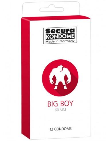 Préservatifs grandes tailles lubrifiés naturels avec réservoir Boîte de 12 - ORI4163200000 - Plaisirs Intimes -