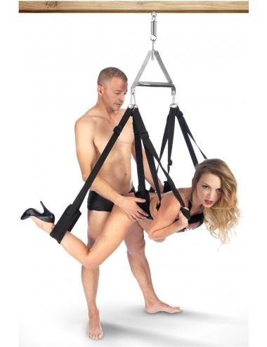 Sextoys - Bondage - SM - Balançoire fétichiste BDSM avec sangles de suspension aux jambes - CC570111 - Fetish Tentation