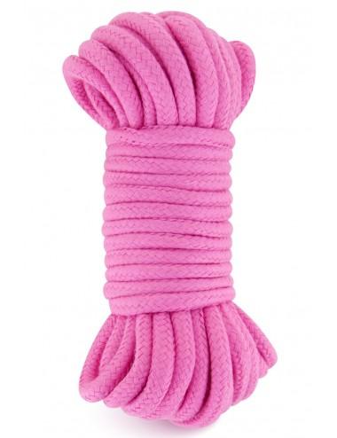Sextoys - Bondage - SM - Corde de bondage très douce et soyeuse shibari rose 10M - CC5700922050 - Sweet Caress