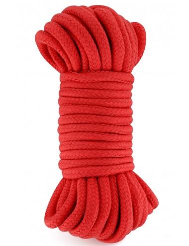 Sextoys - Bondage - SM - Corde de bondage shibari rouge 10M - CC5700922030 - Sweet Caress