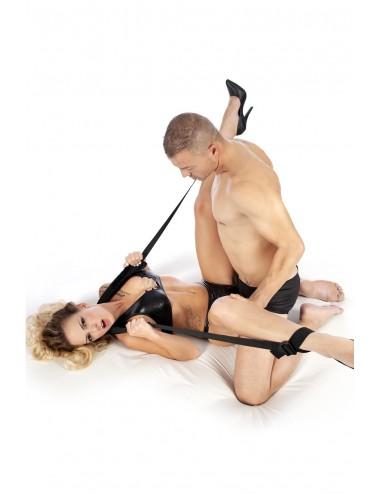 Sextoys - Bondage - SM - Sangle cou chevilles pour positions pour Jeux d'immobilisation bdsm - CC570108 - Fetish Tentation