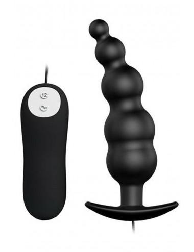 Sextoys - Masturbateurs & Stimulateurs - Plug anal chapelet 12 vitesses - CC530279 - Pretty Love