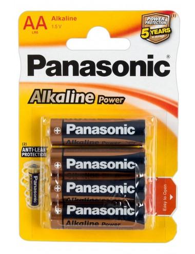 Sextoys - Accessoires - Boîte de 4 piles d'alimentation des sextoys LR6 (AA) - FS740063 - FunSex