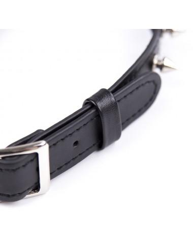 Sextoys - Bondage - SM - Collier réglable avec rivets en métal - 262402081 - Dreamy Fetish