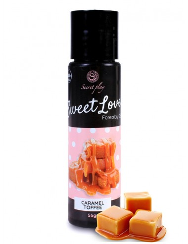 Gel lubrifiant caramel 100% comestible - SP6751 - Lubrifiants - Secret Play