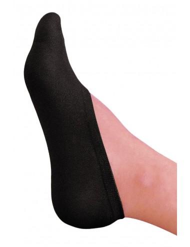 Lingerie - Bas - Bas chaussettes couvre pieds noir - MH009BLK - Music Legs