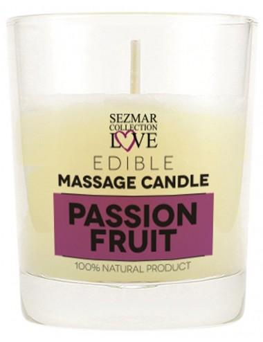 Bougie de massage fruit de la passion 100ml - SEZ055 - Bougies de massage - SEZMAR