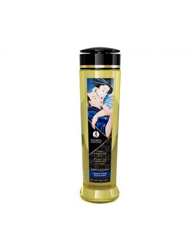 Huile de massage Séduction fleur de minuit aphrodisiaque 240ml - CC1219 - Huiles de massage - Shunga