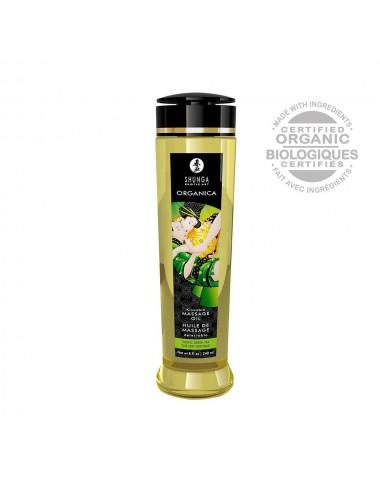 Huile de massage aphrodisiaque Organica bio thé vert 240ml - CC1311 - Huiles de massage - Shunga