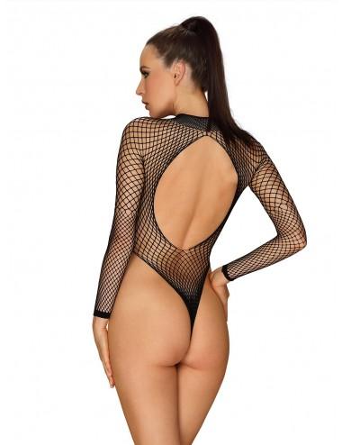 Lingerie - Bodys - B125 Body - Noir - Obsessive