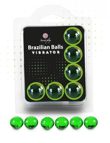 6 Brazilian Balls Vibrator 3591-1 - Huiles de massage -