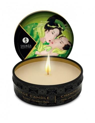 Mini bougie de massage - Thé vert Exotique - Bougies de massage - Shunga