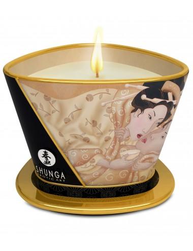 Bougie de massage naturelles lueur et caresses Désir vanille - Bougies de massage - Shunga