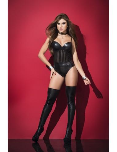 Lingerie - Bodys - Body Style 2502 - Noir - Mapalé