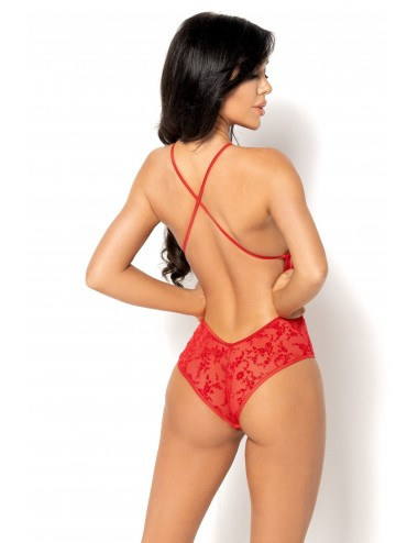 Lingerie - Bodys - Anthea Body - Rouge - Beauty Night