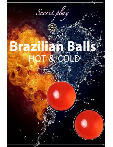 Boules de massage Brésiliennes effet chaud froid - BZ6294