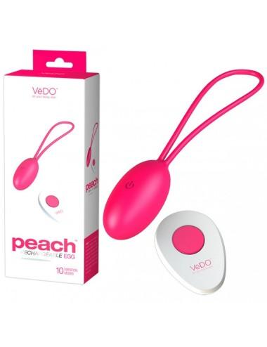 Oeuf Rechargeable Télécommandé Peach Rose