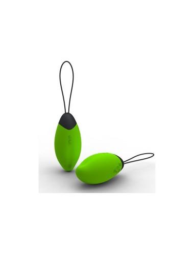 Oeuf rechargeable Leila vert avec capteur de pression