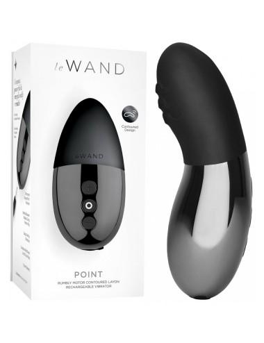 Stimulateur Clitoridien Le Wand Point Noir