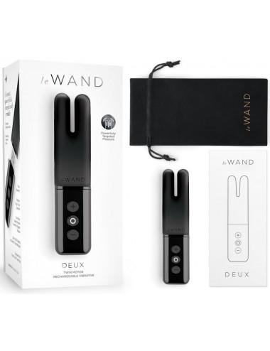 Stimulateur Clitoridien USB Le Wand Deux Noir
