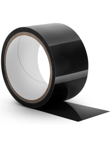 Bondage Tape noir Temptasia - 18 mètres