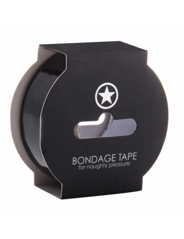 Bondage Tape Noir - 17 Mètres